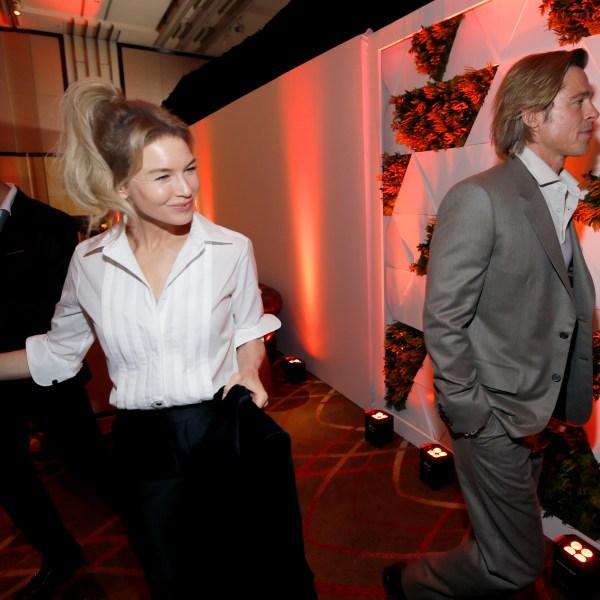 Renee Zellweger, Brad Pitt
