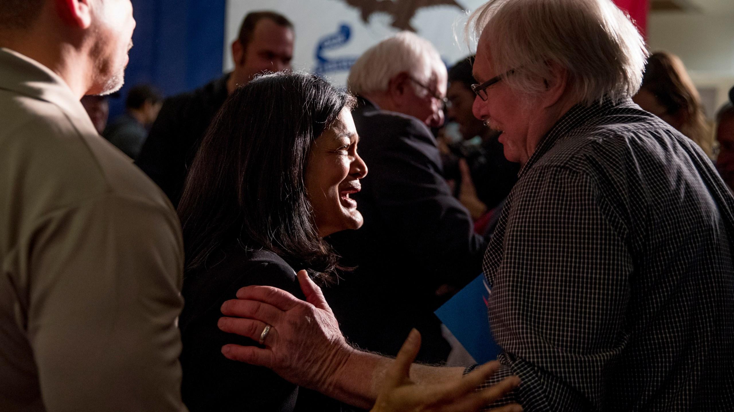 Bernie Sanders, Pramila Jayapal