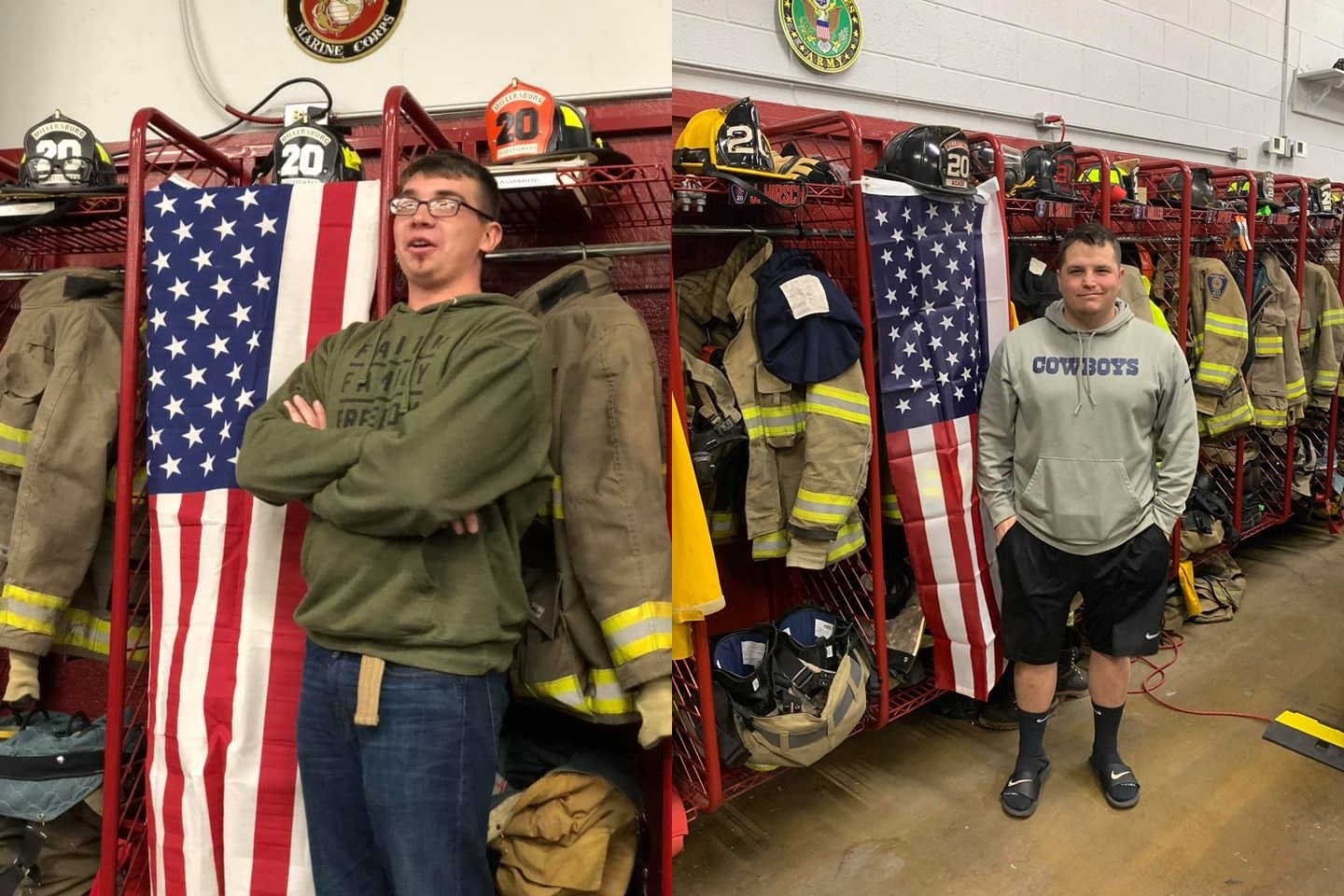 Millersburg Pa Halloween Parade 2020 Millersburg Fire Company honors members serving in the military