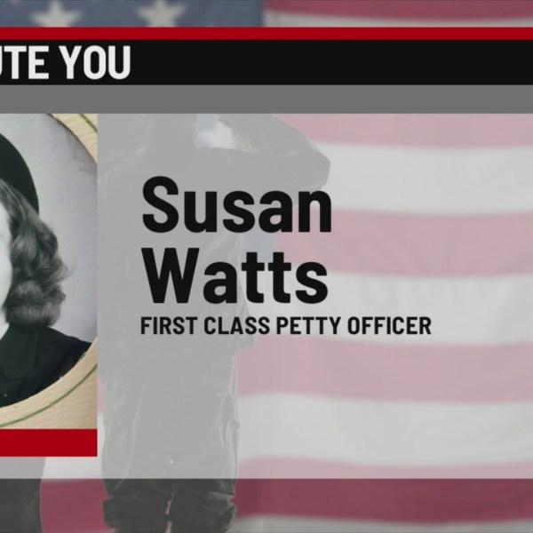 We Salute You Susan Watts