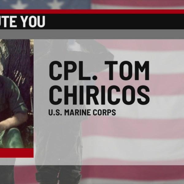 We Salute You Tom Chiricos