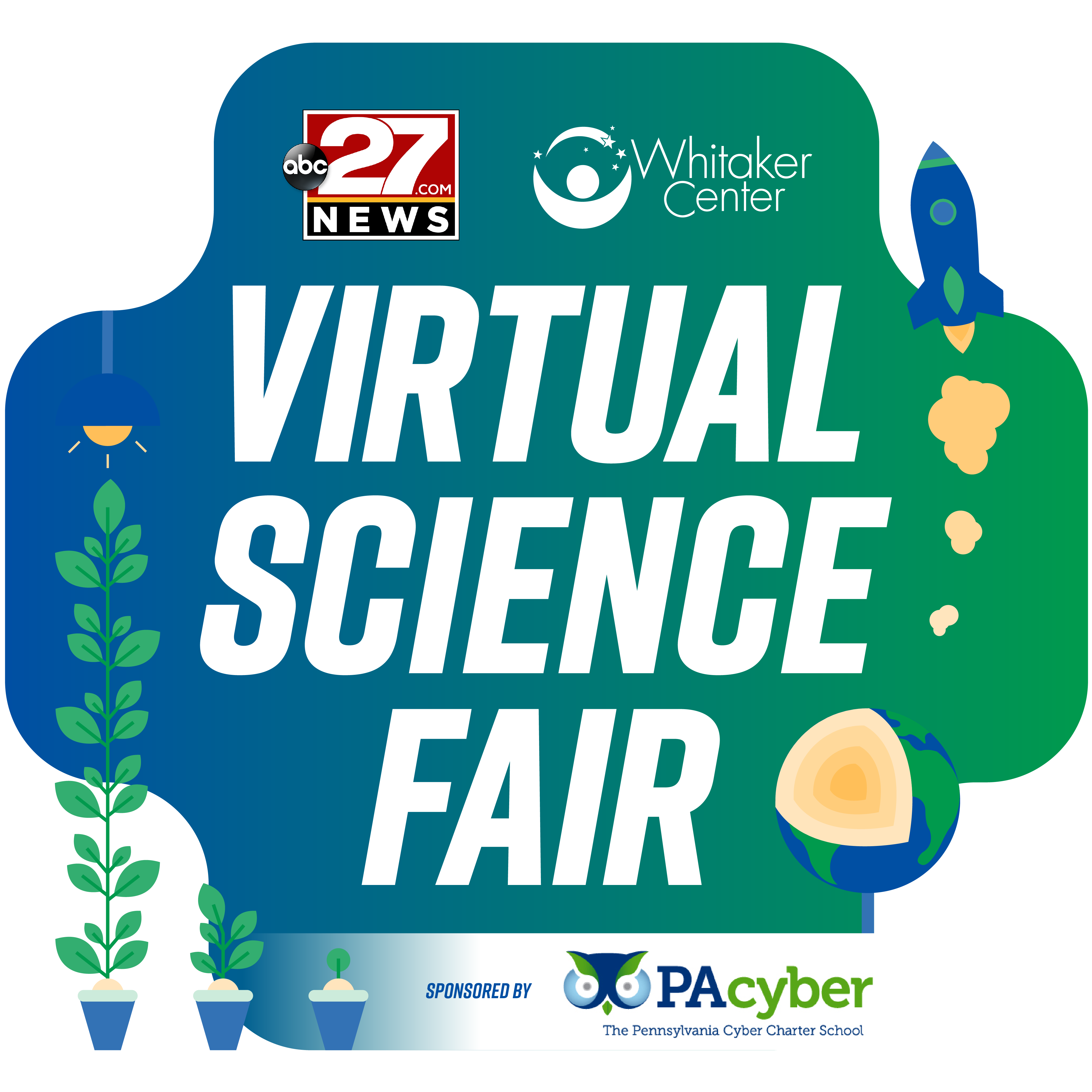 Virtual Science Fair Logo