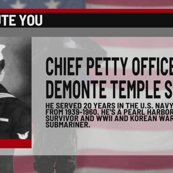 We Salute You Demonte Temple Sr.