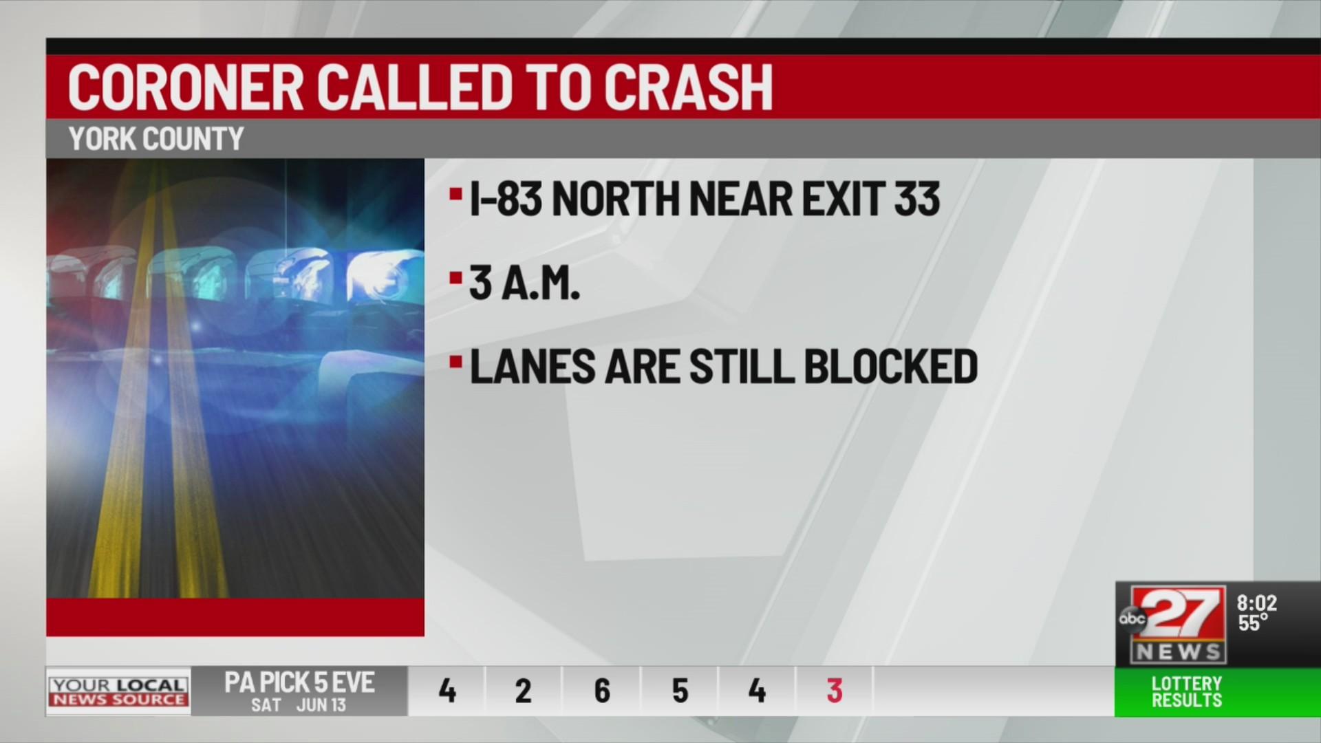 Deadly crash in York County
