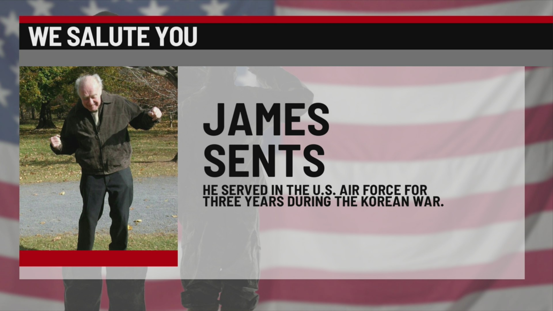 We Salute You James Sents