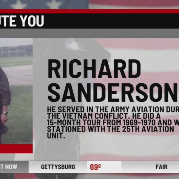 We Salute You Richard Sanderson