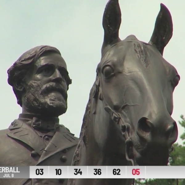 Debate over Confederate statues at Gettysburg