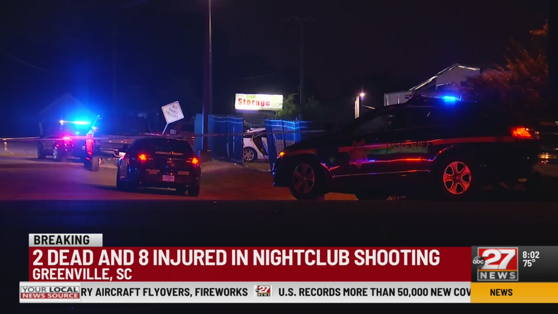 Shooting at South Carolina night-club