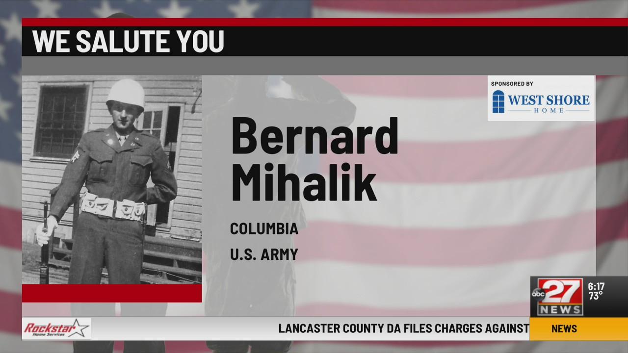 We Salute You Bernard Mihalik