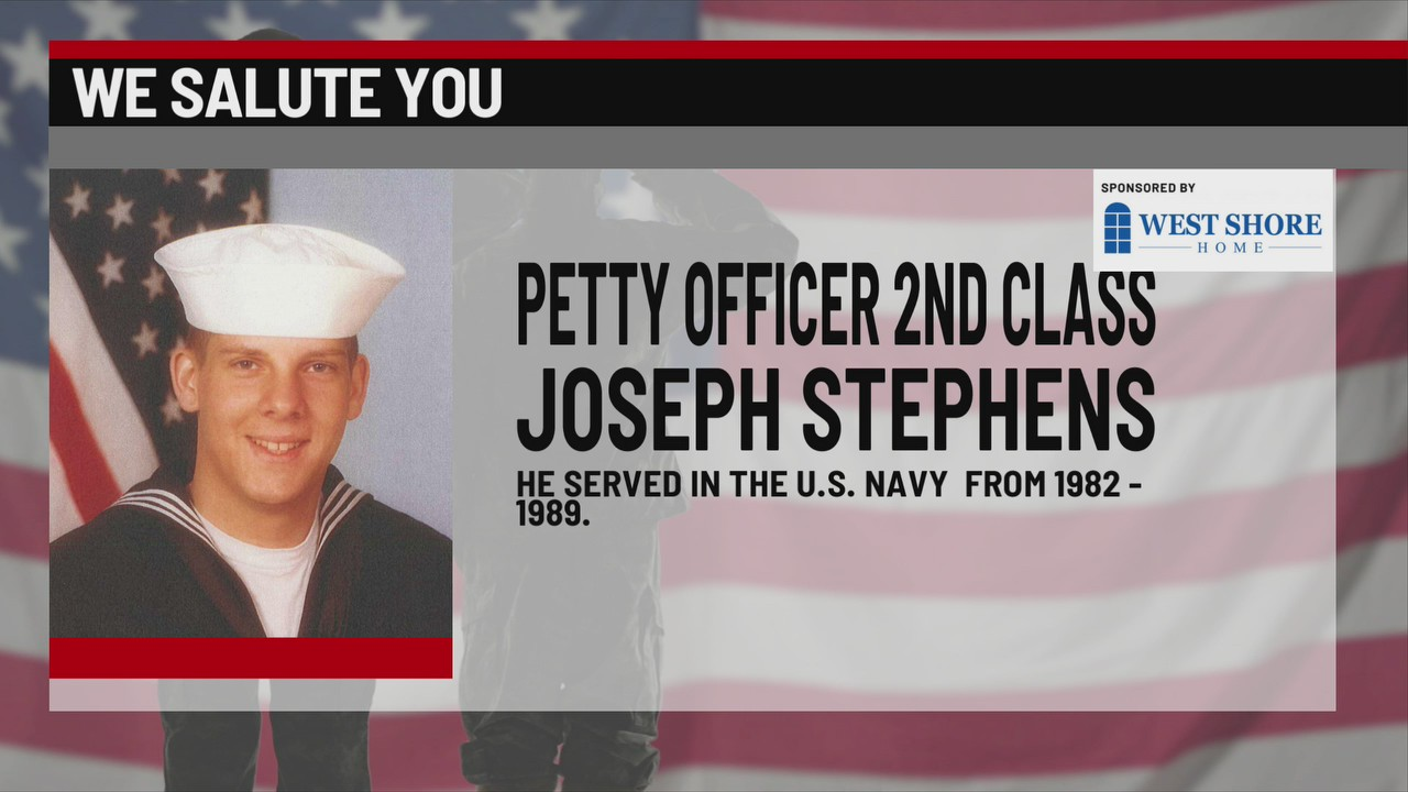 We Salute You Joseph Stephens