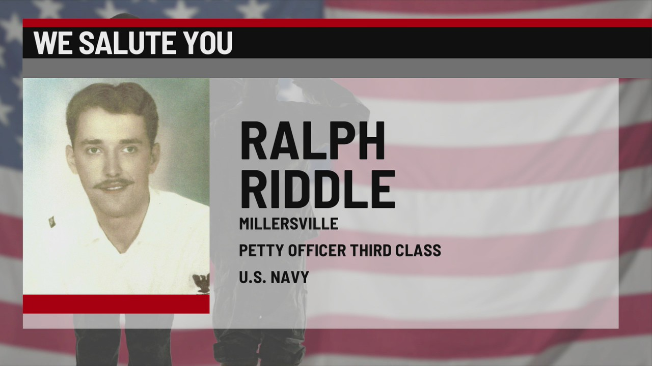 We Salute You Ralph Riddle