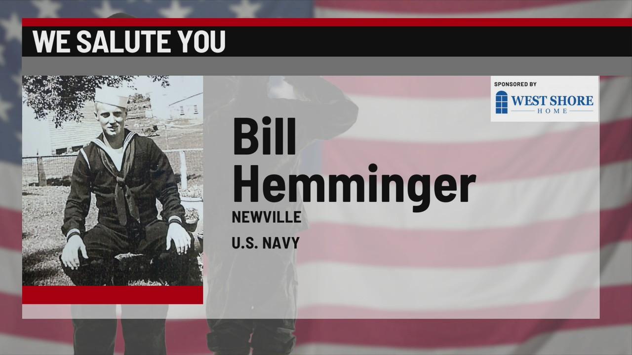 We Salute You Bill Hemminger