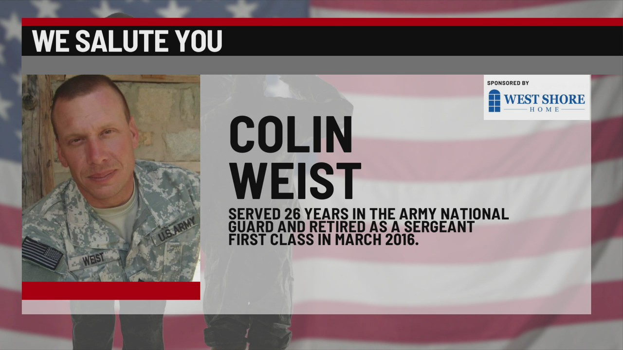 We Salute You Colin Weist