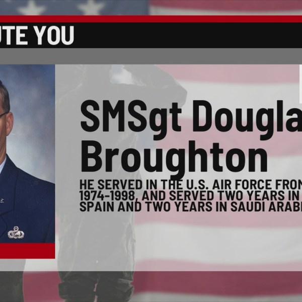 We Salute You Douglas Broughton