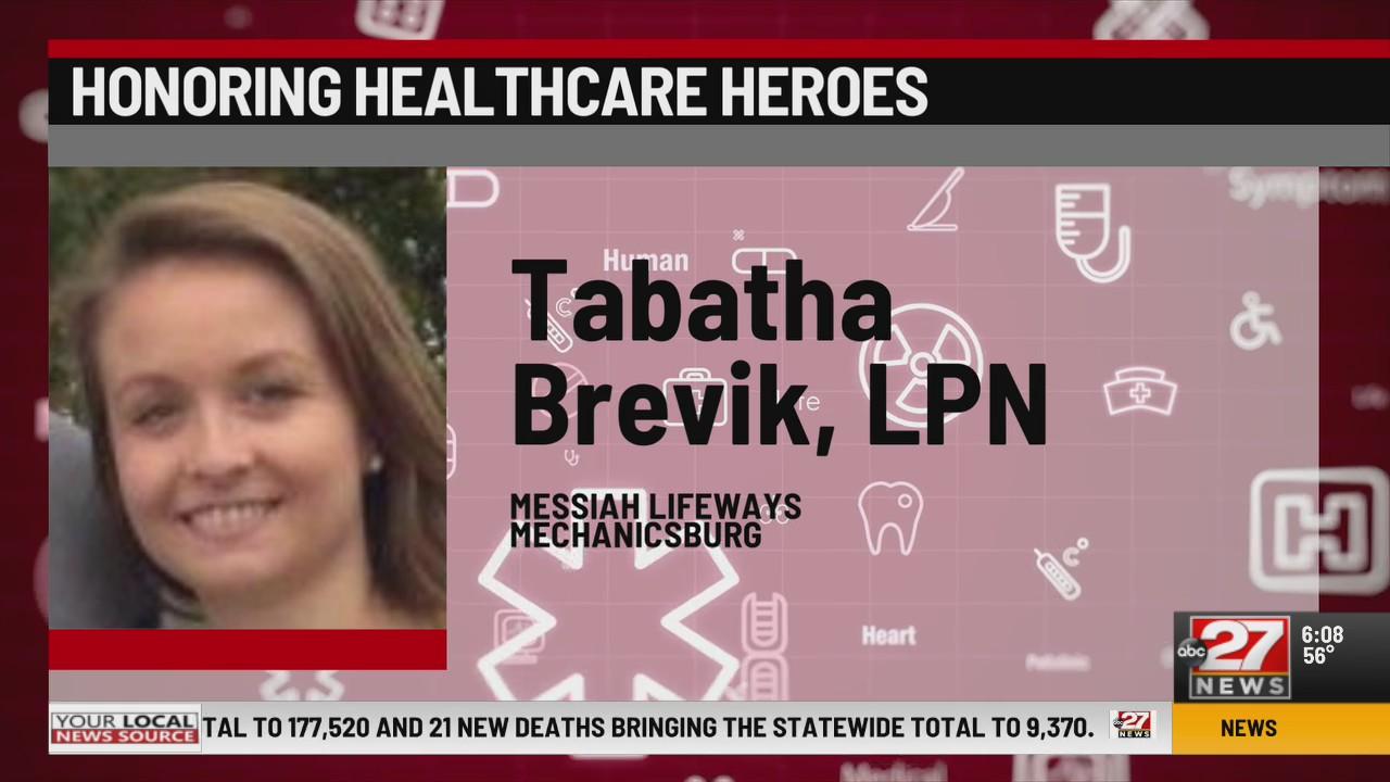 Honoring Healthcare Heroes Tabatha Brevik LPN