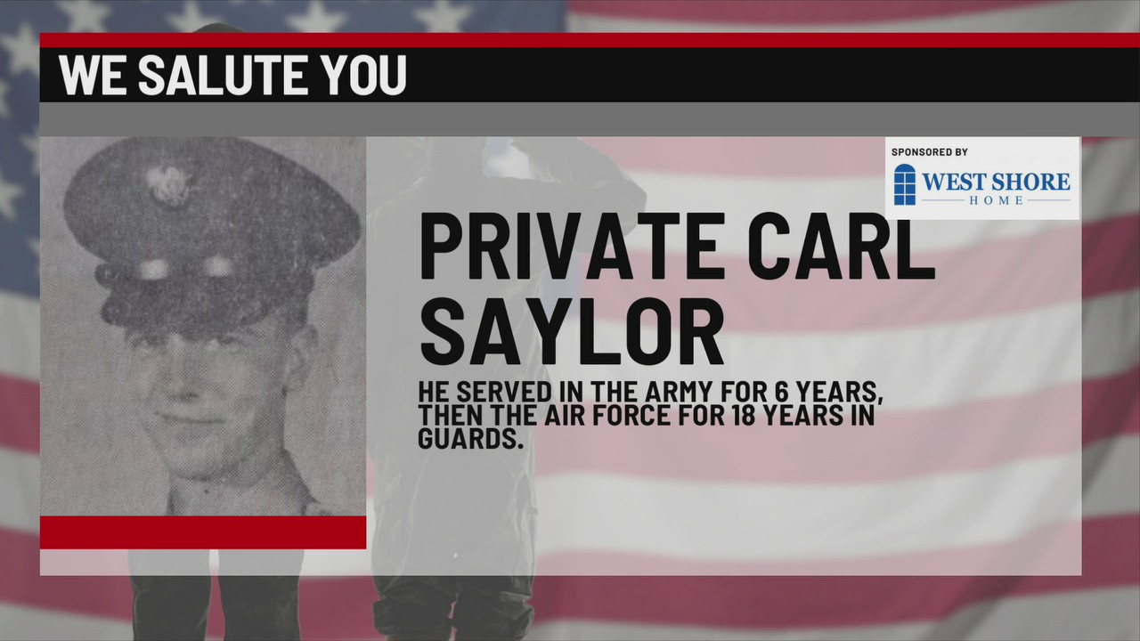 We Salute You Carl Saylor