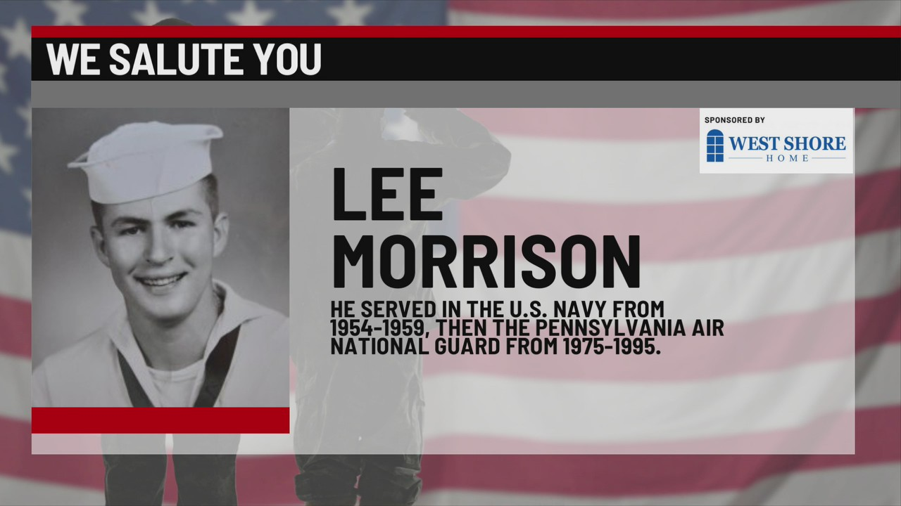 We Salute You Lee Morrison