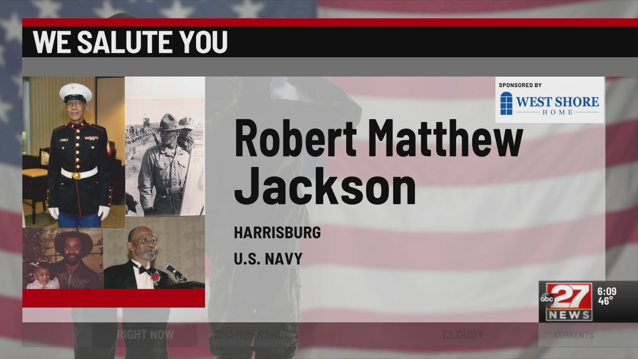We Salute You Robert Matthew Jackson