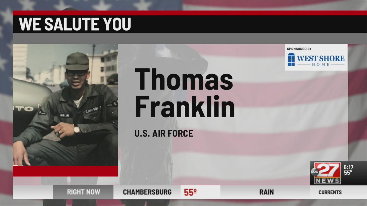 We Salute You Thomas Franklin