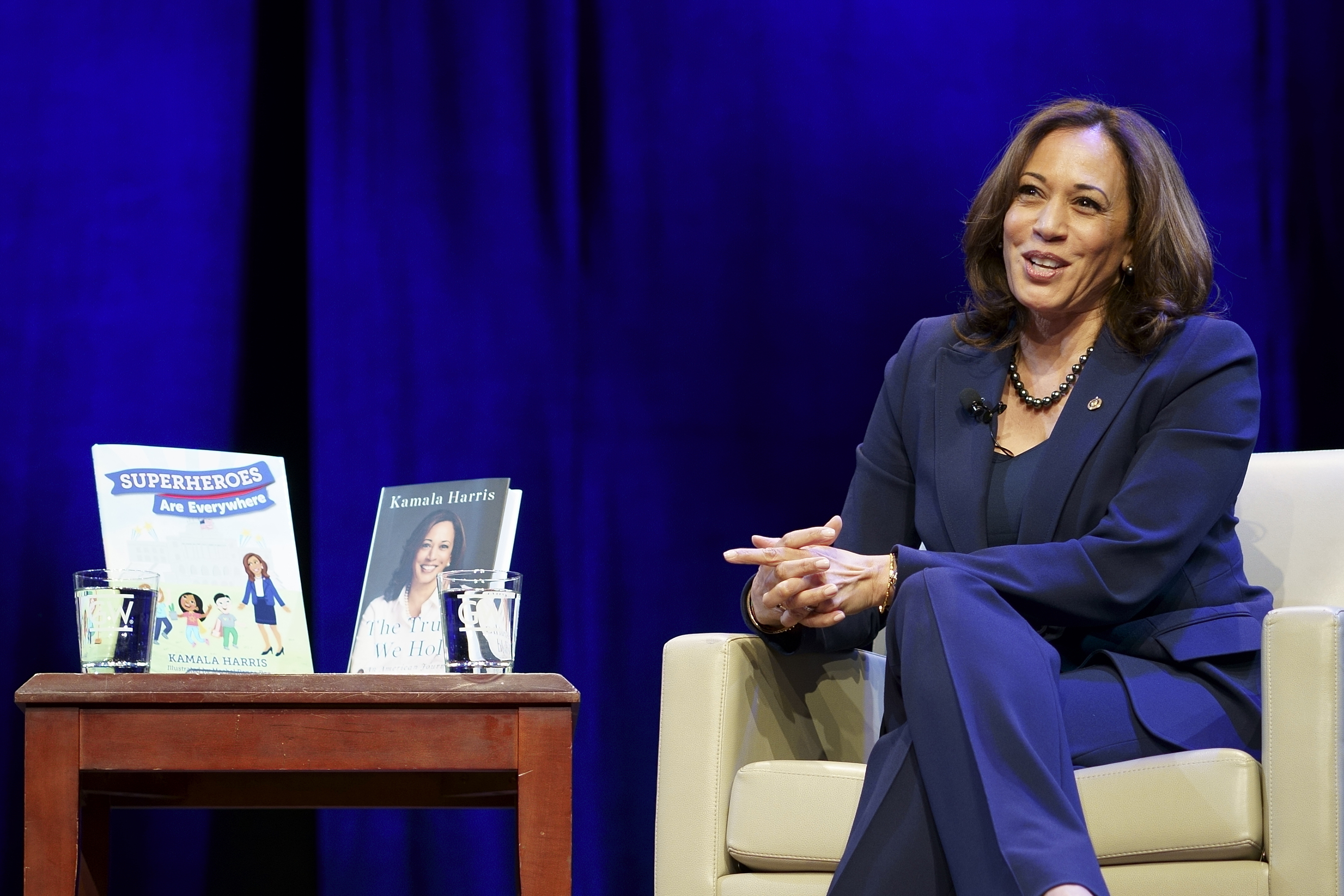 Kamala Harris books surge in popularity after election   ABC27