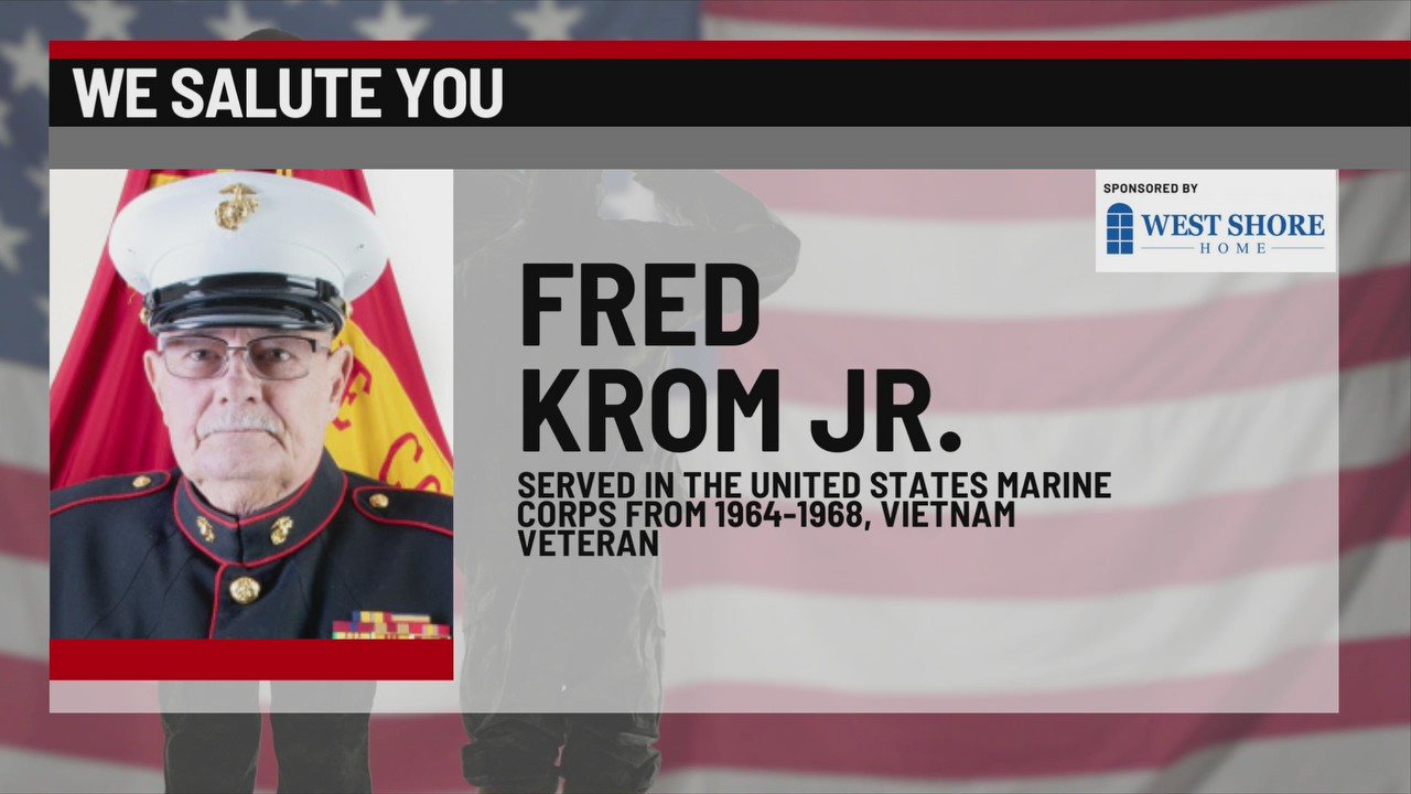 We Salute You Fred Krom Jr