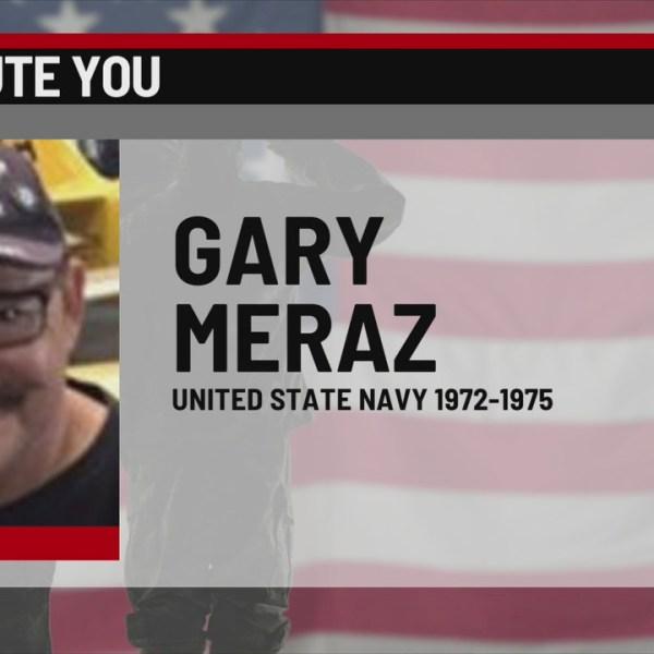 We Salute You Gary Meraz