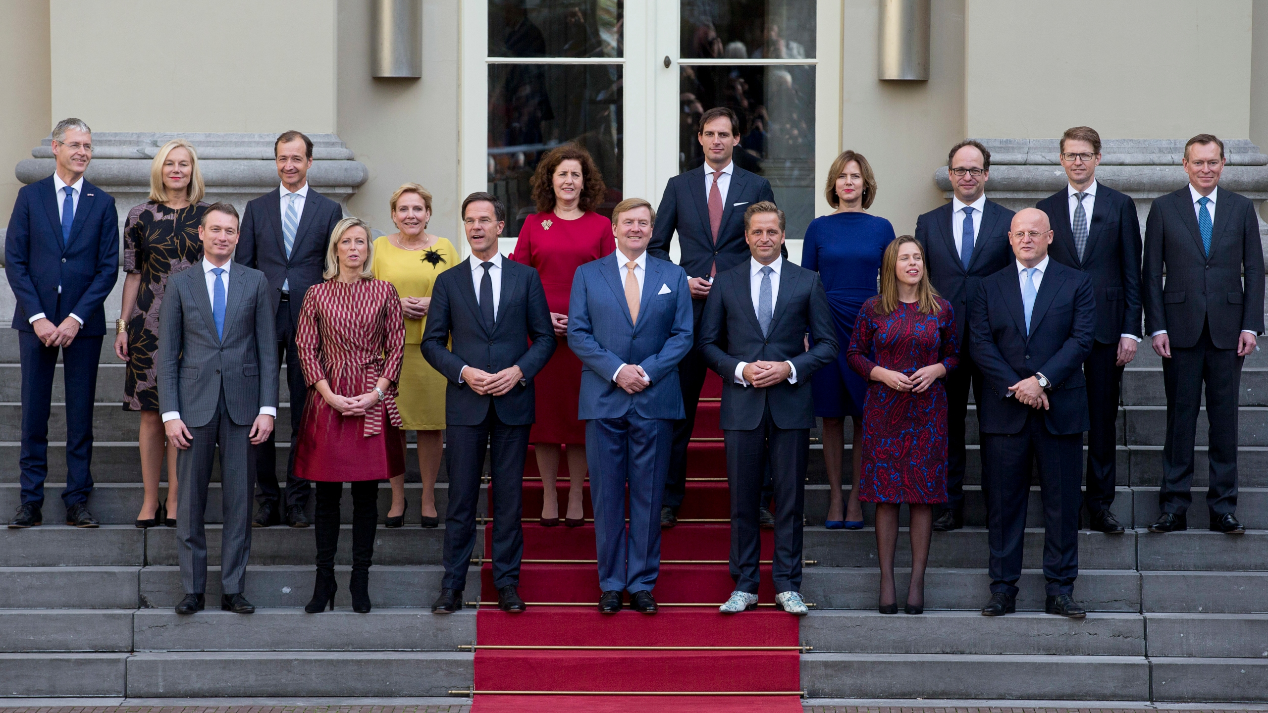 Mark Rutte,King Willem-Alexander