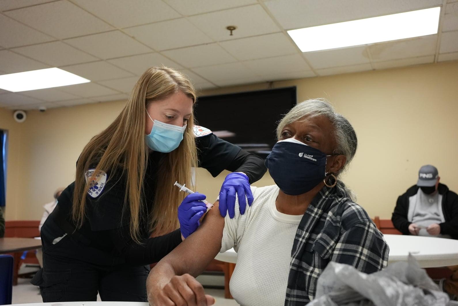 Lancaster EMS vaccination