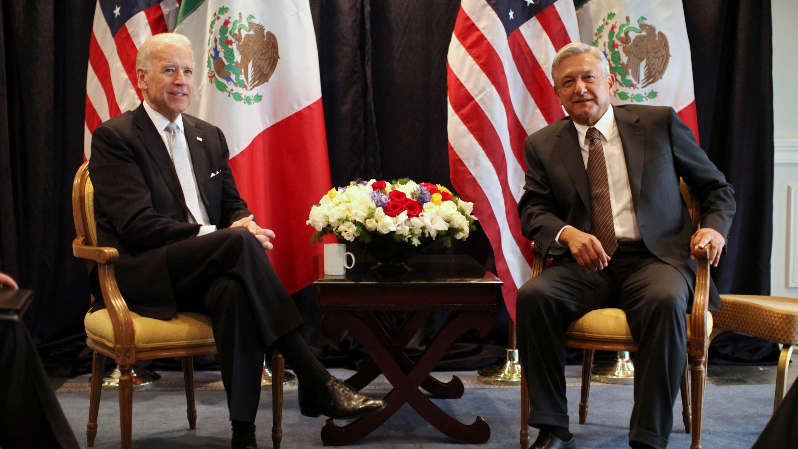Joe Biden, Lopez Obrador