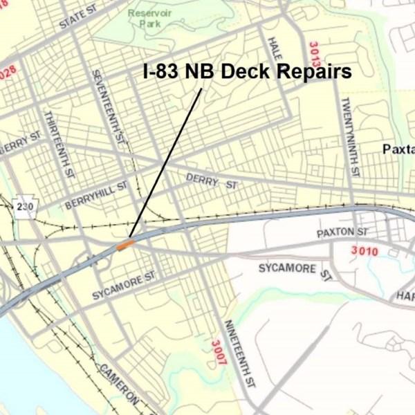 I-83 Bridge Repairs