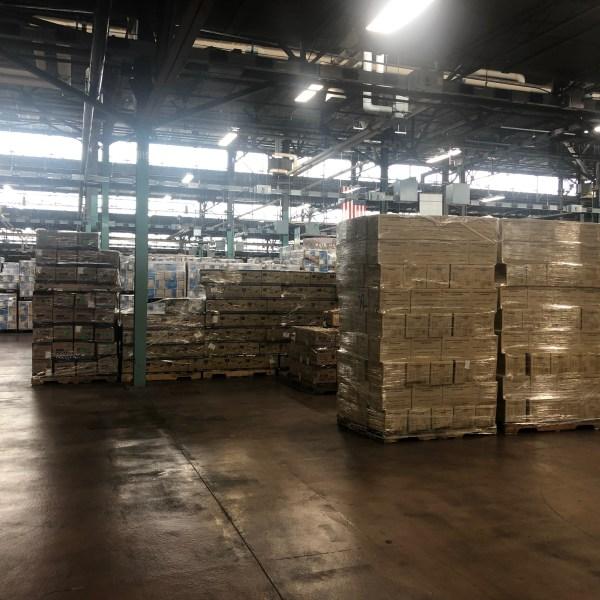 Pa. Farm Show Complex housing department of health's PPE stockpile