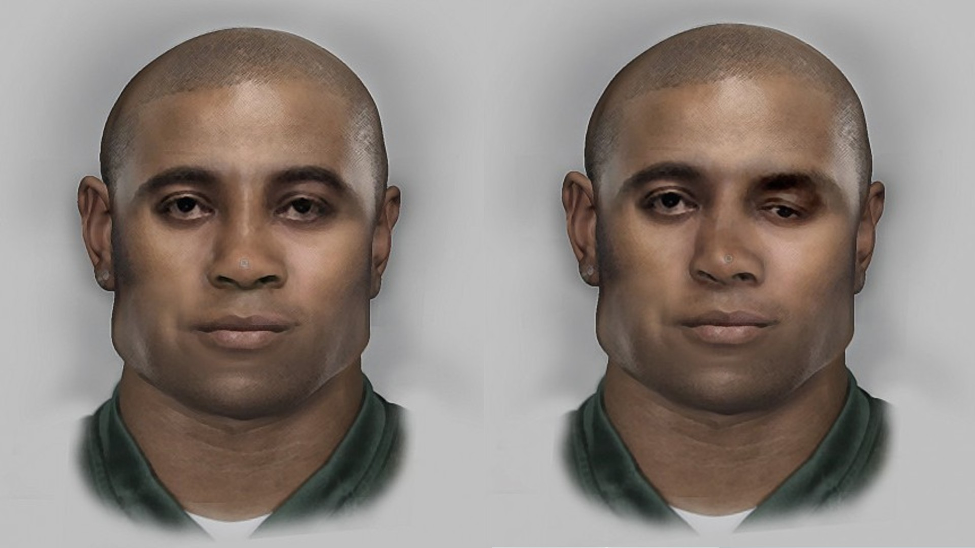 Police were able to produce composite photos based on DNA from the skeletal remains that were first discovered at Haviland and Loucks roads.