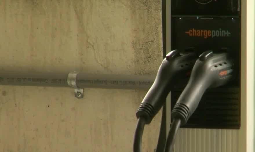 Harrisburg's new green initiative: Vehicle charging stations in City Island garage