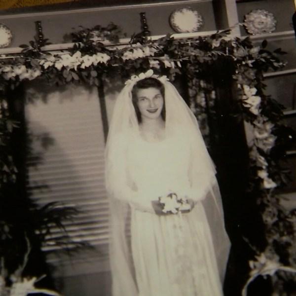 York woman's World War II era wedding dress that changed the fabric of history