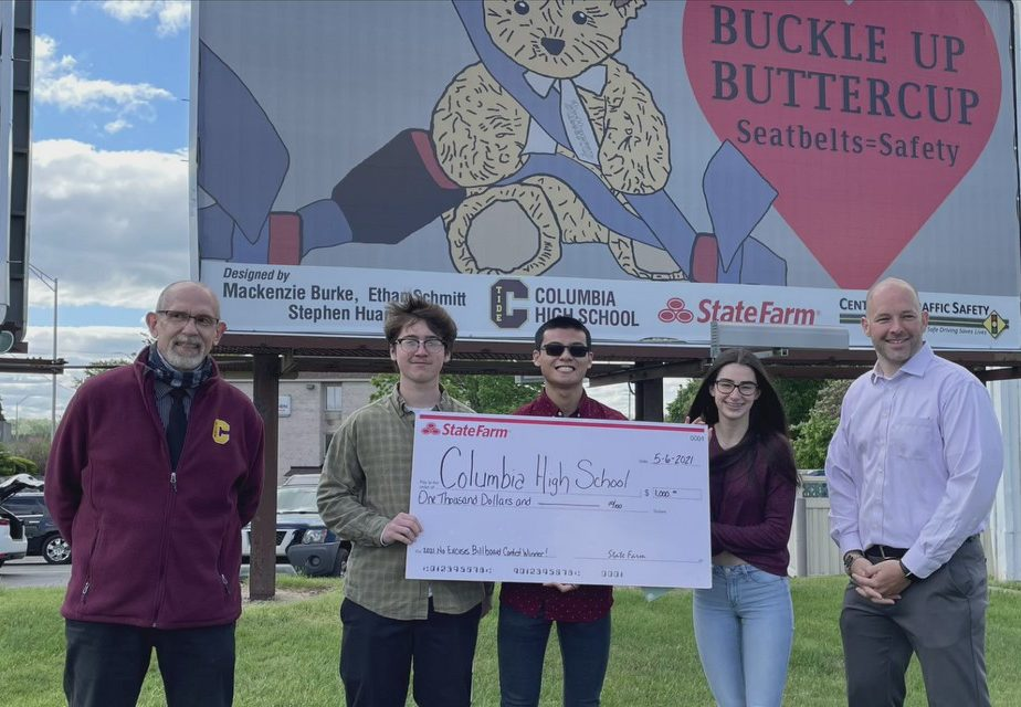 Hometown Hero: Columbia High School students promote safer driving with Lancaster billboard design