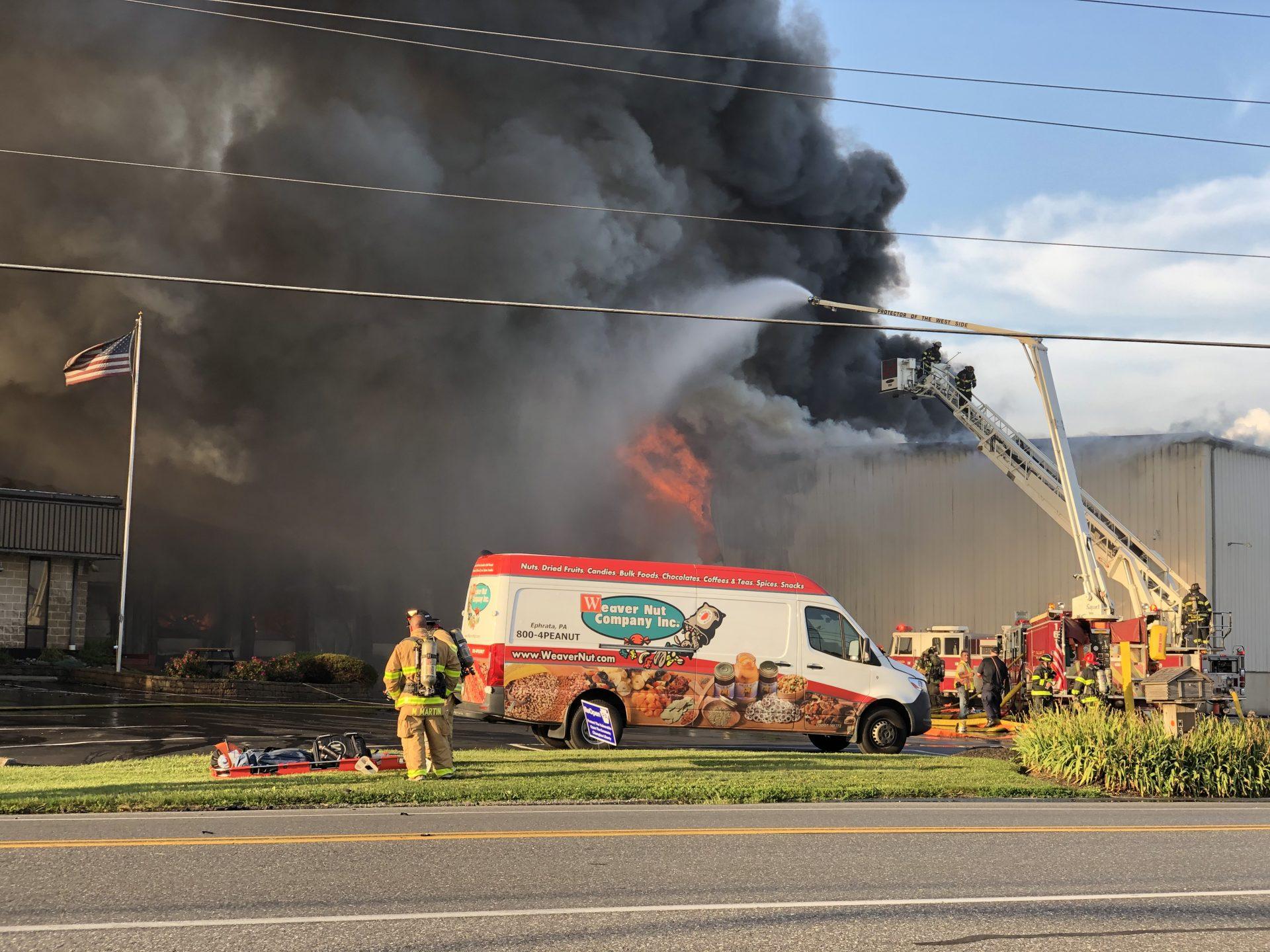 Weaver Nut Company Fire