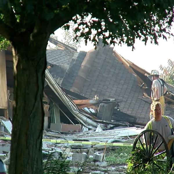 Commercial business leveled in Lebanon County
