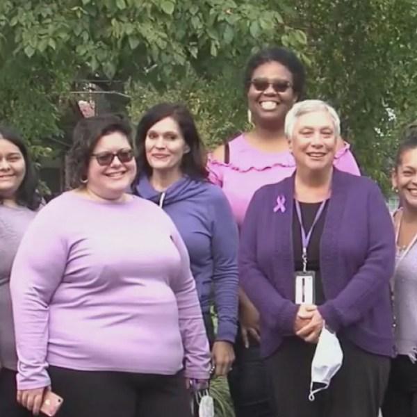 Domestic Violence Awareness Purple