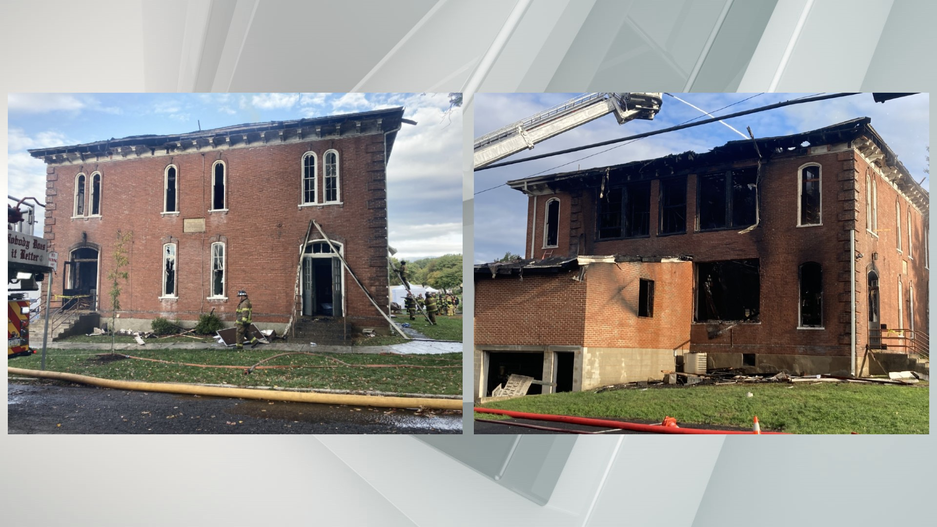 Historical Society of Dauphin County building fire