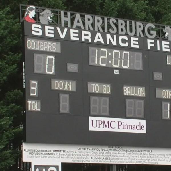 Severance Field Scoreboard
