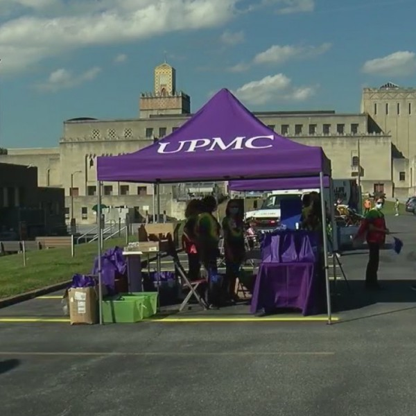 UPMC Nurse-Family Partnership drive-thru event