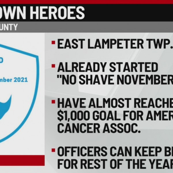 hometown hero no shave november